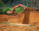 illegal gold mining in Protected Area